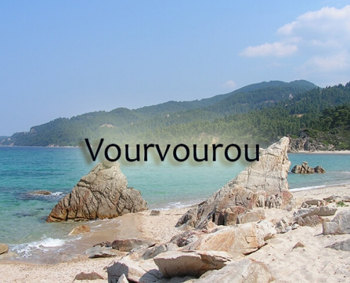 taxi transfers to Vourvourou