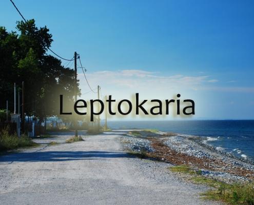 taxi transfers to leptokaria