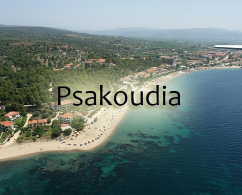 taxi transfers to Psakoudia