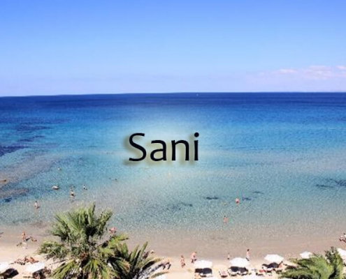 Taxi transfers to Sani
