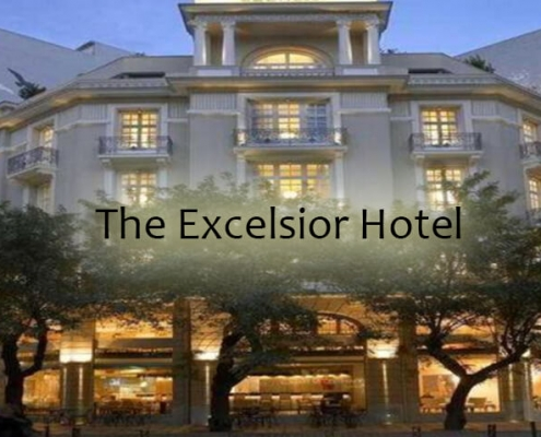 taxi transfers to The Excelsior Hotel