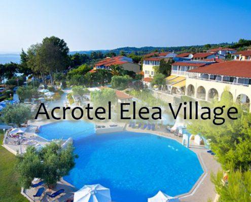 Taxi transfers to Αcrοtel Elea Village