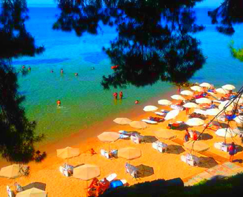 Taxi transfers to Golden Beach Hotel