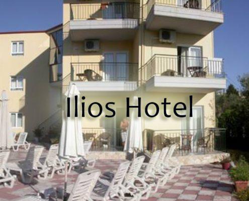Taxi transfers to Ilios Hotel