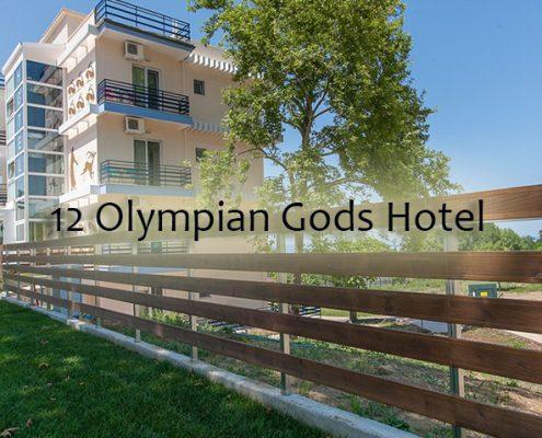 Taxi transfers to 12 Olympian Gods Hotel