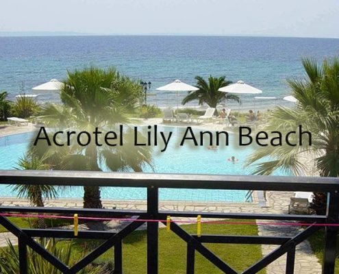 Taxi transfers to Acrotel Lily Ann Beach Hotel
