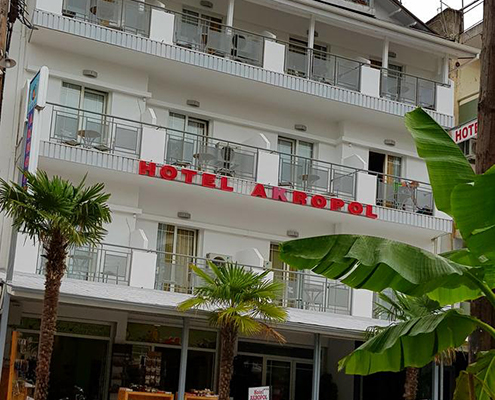 Taxi transfers to Akropol Hotel