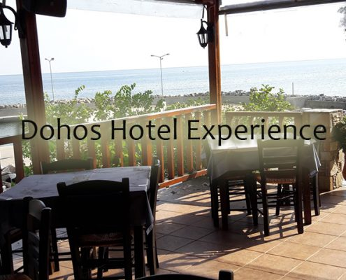 Taxi transfers to Dohos Hotel Experience