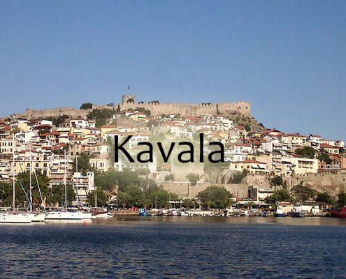 Taxi transfers to Kavala