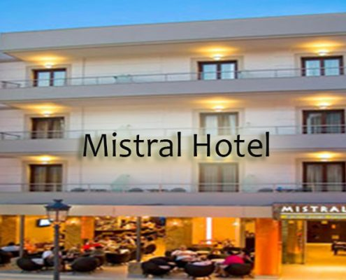 Taxi transfers to Mistral Seaside Hotel