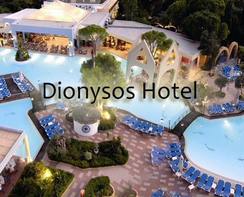 Taxi transfers to Dionysos Hotel