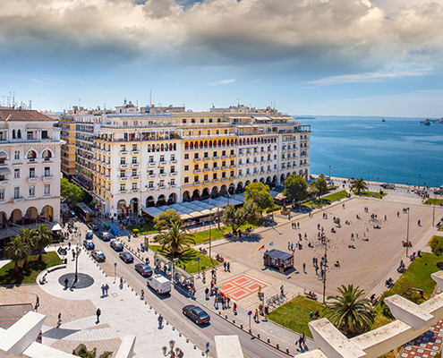 Airport taxi transfers to Thessaloniki city