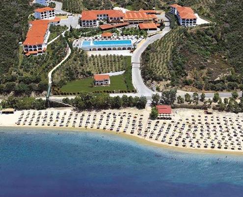 Akrathos Beach Hotel Airport taxi transfers