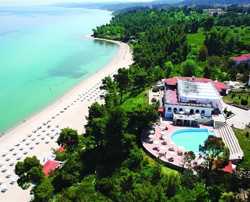Alexander the Great Beach Hotel airport taxi transfers