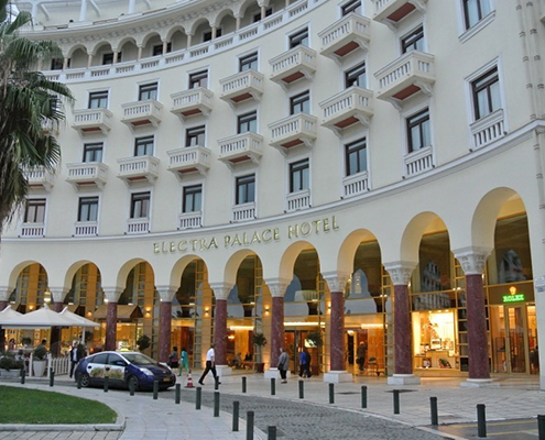 Electra Palace Hotel Airport taxi transfers