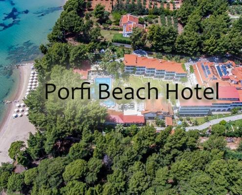 Taxi transfers to Porfi Beach Hotel