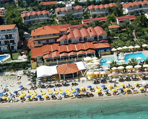 Taxi transfers to Sousouras Hotel