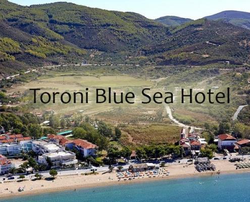 Taxi transfers to Toroni Blue Sea Hotel