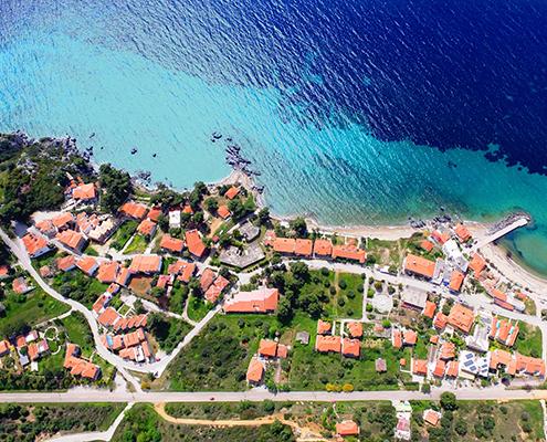 Taxi transfers to Xenios Loutra Village Beach Hotel