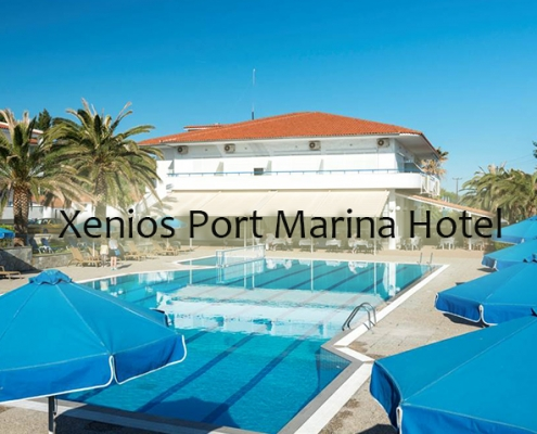 Taxi transfers to Xenios Port Marina Hotel