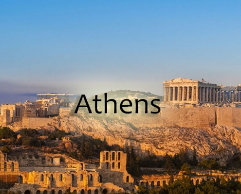 Taxi transfers to Athens