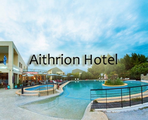 Taxi transfers to Aithrion Hotel