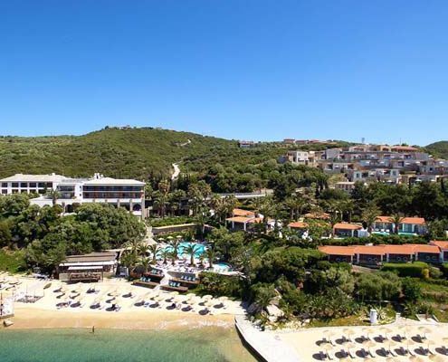 Aristoteles Holiday Resort airport taxi transfers