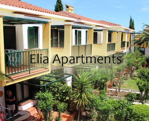 Taxi transfers to Elia Apartments