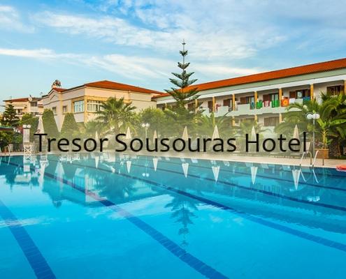 Taxi transfers to Tresor Sousouras Hotel