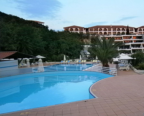 Xenios Theoxenia Hotel airport taxi transfers