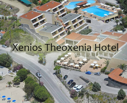 Taxi transfers to Xenios Theoxenia Hotel