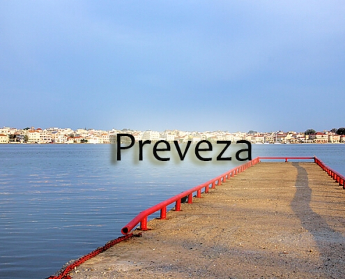 Taxi transfers from Thessaloniki to Preveza